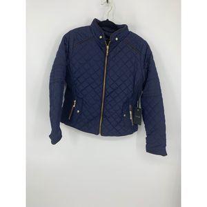 New Active USA navy blue L coat jacket